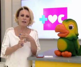 """Ao vivo no """"Mais Você"""", Ana Maria Braga anuncia diagnóstico de câncer no pulmão"""