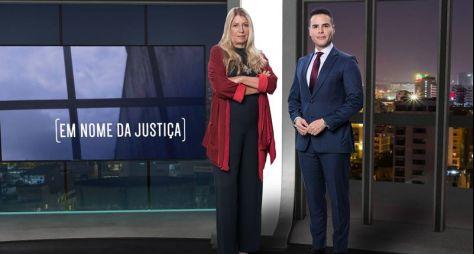 """""""Em Nome da Justiça"""", com Luiz Bacci, estreia quinta-feira, 30/01, na Record TV"""