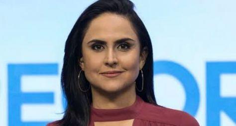 """Carla Cecato deve ser aproveitada na edição do """"Hoje em Dia"""" aos domingos"""