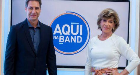 """""""Aqui na Band"""" tem mais uma temporada garantida"""