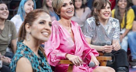 """Flávia Alessandra, Bárbara Paz e Poliana Abritta no """"Altas Horas"""""""