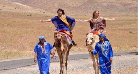 Melhores Momentos: Eliana e Narcisa se aventuram pelo Marrocos