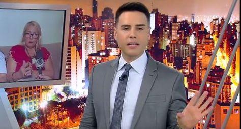 Cidade Alerta volta aos dois dígitos e impede novela da Globo de subir