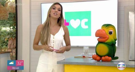 """Talitha Morete substitui Ana Maria Braga às pressas no """"Mais Você"""""""