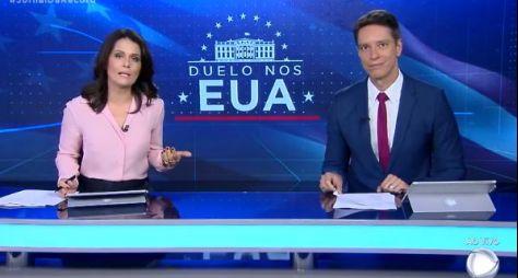 Jornal da Record bate novo recorde na faixa das 19h45