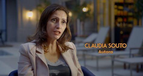 """""""Cara e Coragem"""" será o nome da novela de Claudia Souto no horário das sete"""
