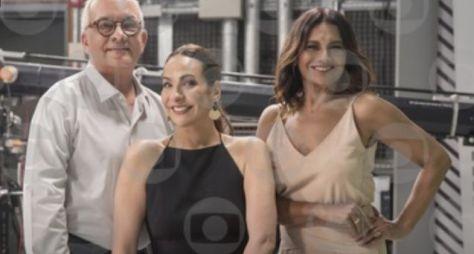 Maria Beltrão, Arthur Xexéo e Dira Paes comandam a transmissão da festa do Oscar