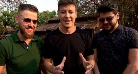 Rodrigo Faro encara trabalho na roça com a dupla Zé Neto e Cristiano