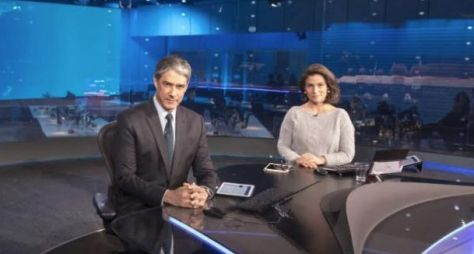 Jornal Nacional foi o programa de TV mais visto nesta segunda (10)