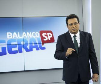 Sem quadro de fofoca, Balanço Geral SP vence Globo por quatro pontos de vantagem