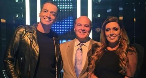 Leo Dias e Simony divertem o público no Mega Senha deste sábado