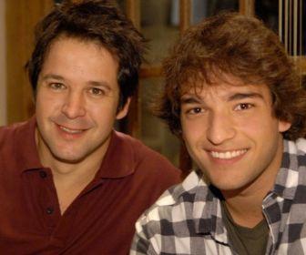 Murilo Benício comemora parceria com Humberto Carrão