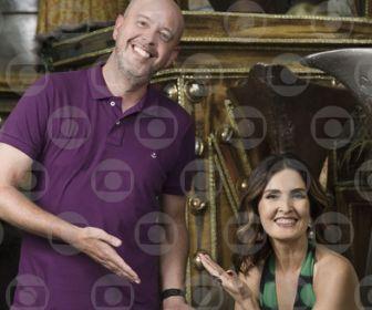Fátima Bernardes e Alex Escobar apresentam a festa pelo quarto ano consecutivo