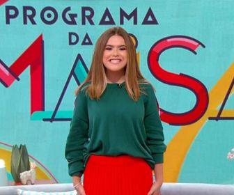 """SBT marcou a estreia da segunda temporada do """"Programa da Maisa"""""""