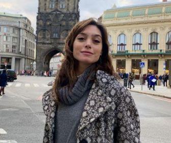 """Juliana Schalch participa das gravações de """"Um Lugar ao Sol"""""""