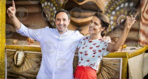 Mariana Gross e Pedro Bassan comandam a transmissão dos desfiles da Série A
