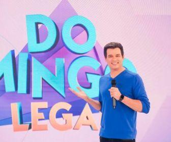 Melhores Momentos: Celso Portiolli comemora 10 anos de Domingo Legal