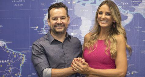 Ticiane Pinheiro renova contrato com a Record TV