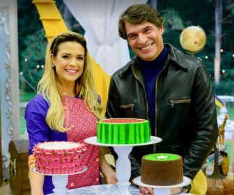 """Confeiteiros transformam frutas em bolos no """"Júnior Bake Off"""""""