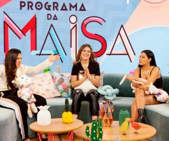 Melhores Momentos: Simone e Simaria são as convidadas do Programa da Maisa