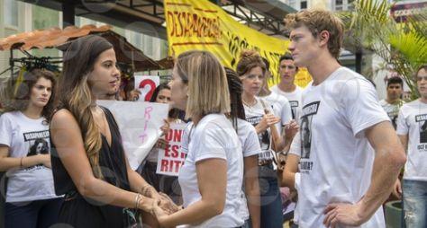 Toda Forma de Amar: Leila é expulsa de manifestação para encontrar Rita