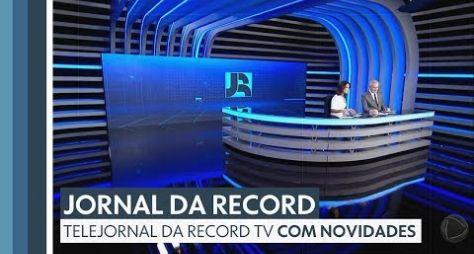 Jornal da Record garante a vice-liderança isolada em São Paulo