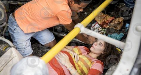 Malhação: Meg sofre grave acidente e bebê nasce em meio a muita tensão