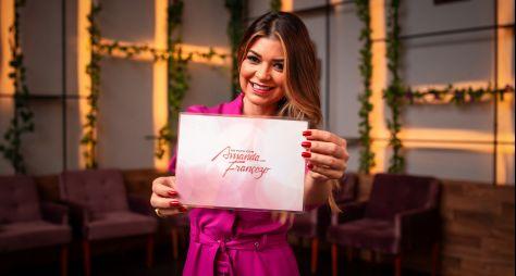Programa de Amanda Françozo na TV Aparecida já tem nome e data de estreia