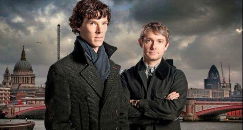 Sherlock estreia na TV Brasil nesta segunda (16/3)