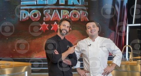"Monique Alfradique e Rafael Costa e Silva participaram do ""Mestre do Sabor"""