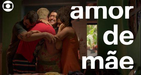 """A audiência de """"Amor de Mãe"""" no Painel Nacional de Televisão"""