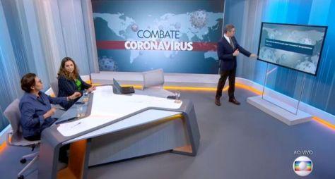 Cobertura sobre o Coronavírus eleva a média de público da TV Globo