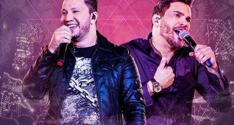 """""""Música na Band"""" apresenta show de Cleber e Cauan"""