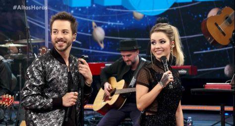 """Prestes a completar 20 anos, """"Altas Horas"""" reprisa show com Sandy e Junior"""