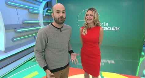 TV Globo reduz, em 45 minutos de arte, o programa Esporte Espetacular