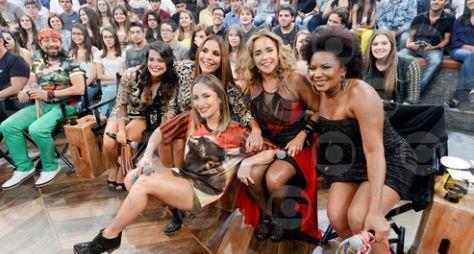 """As estrelas do Axé fazem a festa no """"Altas Horas"""""""