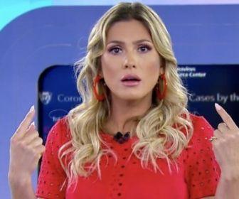 Silvio Santos afasta Lívia Andrade do Fofocalizando por tempo indetemidado