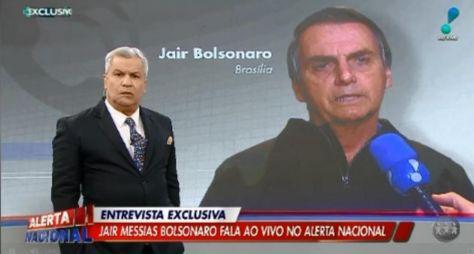 """Com entrevista com Presidente da República, """"Alerta Nacional"""" repete recorde"""