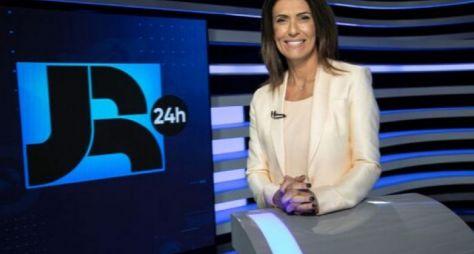 "Janine Borba substitui Adriana Araújo no ""Jornal da Record"""