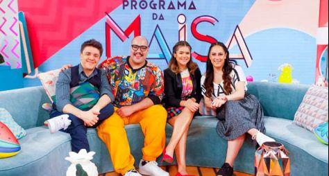 Tiago Abravanel e Silvia Abravanel são os convidados do Programa da Maisa