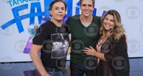 Tamanho Família: Disputa de risos entre Fabiana Karla e Tom Cavalcante