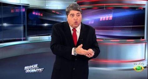 """""""Brasil Urgente"""", com Datena, está conquistando picos de terceiro lugar"""