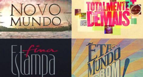 Saiba como estão as audiências das reprises das novelas da Globo