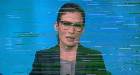 Jornal Nacional apresenta falha técnica na abertura, também chamada de escaleta
