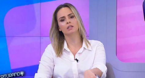 """Ana Paula Renault pode se tornar fixa como comentarista do """"Triturando"""""""