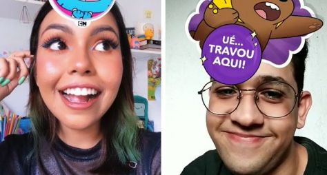 Cartoon Network disponibiliza aos fãs novos filtros divertidos