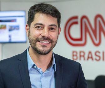 Evaristo, finalmente, estreia na CNN Brasil