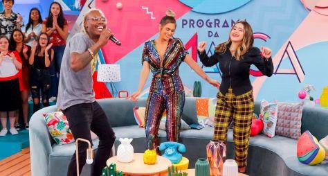 Maisa tem aula de dança com Lívia Andrade e Mc Kekel neste sábado