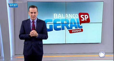 Record TV não está satisfeita com os resultados do BG Manhã e do Fala Brasil