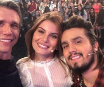 Luan Santana e Camila Queiroz são os convidados do Tamanho Família